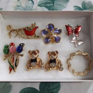 BUNDLE: Set of Brooches