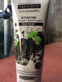 Freeman detoxifying Charcoal & Black Sugar Mud Mask