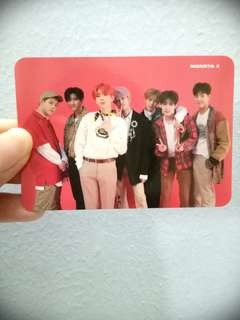 [WTS] MONSTA X THE CONNECT:DEJAVU OFFICIAL PHOTOCARD GROUP
