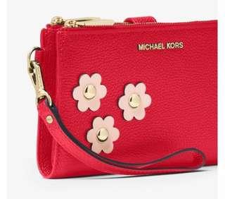 Authentic Michael kors pouch
