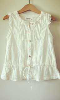 #9 White top ($25 for 11 pieces)