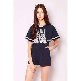 SSD Genesee Embroidery Romper