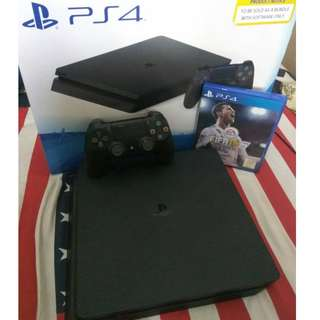 PS 4 Slim 500GB CUH-2106A Jet Black