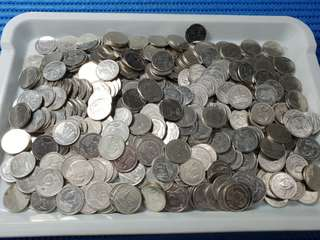 Thailand 1 One Baht Coin ( 500 pieces are available )