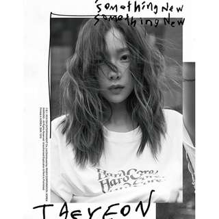 "[GROUP ORDER] Taeyeon ""Something New"" Album + Poster"