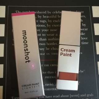 Moonshot cream paint 211 bnib