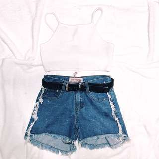 Topshop top- Php 300 shorts- 150 ( get the set for only Php 400 )