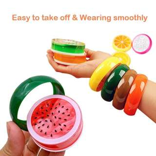 Colorful Fruits Slime