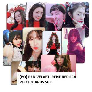[PO] Red Velvet Irene Replica Photocard Set