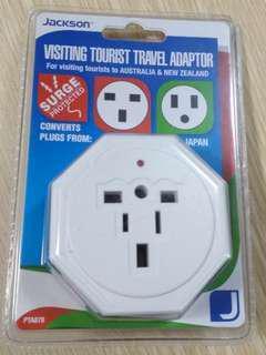 Jackson travel adaptor BNIB (For use in Oz & NZ)