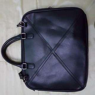 Sale!!! Men Messenger Bag Black
