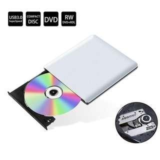 729. USB 3.0 External DVD Drive, ieGeek CD Drive Burner Slim Portable CD DVD +/-RW Writer/Rewriter/Player/Reader DVD CD ROM Drive High Speed Superdrive for PC Laptop Desktop Notebook Windows Mac OS Linux