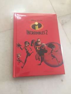 Incredibles 2 Notebook #winkuih