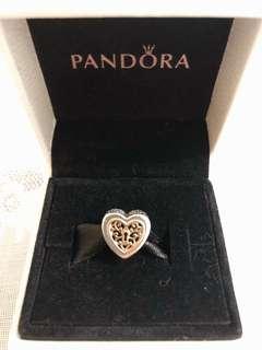 Pandora Charm-Locked Love Openwork Charm