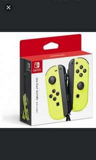 Switch Joy-con (Neon Yellow)(3 months Maxsoft Warranty)