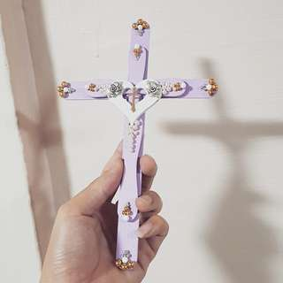 Fridge magnet cross