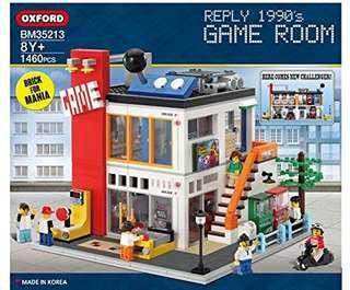 Oxford Blocks BM35213 Game Room