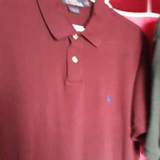 markdown to P350 Polo Ralph Red Custom Fit L