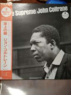 John Coltrane's the love supreme vinyl