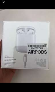 Airpods 全新未開