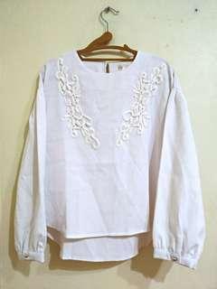 🚚 日系 白搭 純白 上衣