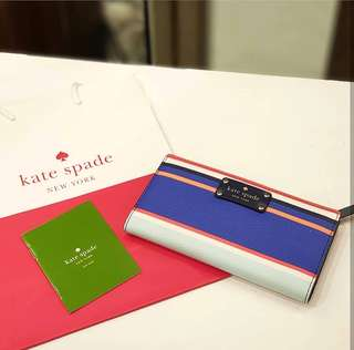 BRAND NEW KATE SPADE WALLET ❤️BIG SALE P4995 ONLY❤️ With carecard and paperbag Swipe for detailed pics