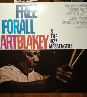 Art Blakey and the jazz messengers vinyl