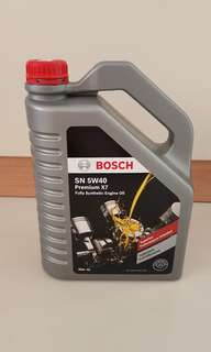 Bosch Fully Synthetic Enginr Oil SN 5W40