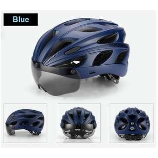 Rockbros Cycling Helmet 16 (Blue)