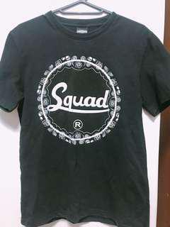 Squad正版短T