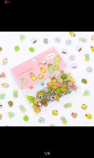 sumikko gurashi sticker flakes