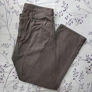 Uniqlo Gray Men's Casual Pants