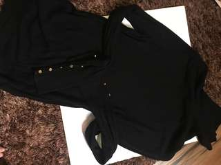 HM Turtle Neck Long Sleeves Top