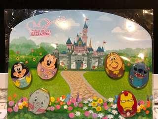 迪士尼襟章 Disney Pin 花蛋