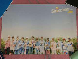 SEVENTEEN: love and letter poster