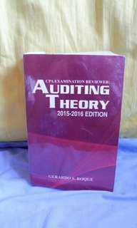 Auditing Theory by Roque, Gerardo