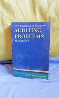 Auditing Problems by Roque, Gerardo
