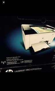 New hp color laser printer