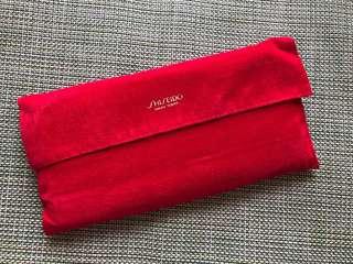 Shiseido 紅色銀包
