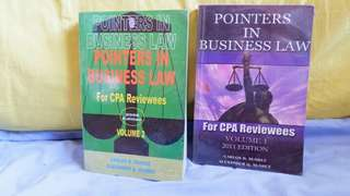 Pointers in Business Law Vol 1 and 2 by Suarez