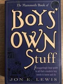 boys own stuff, jon e lewis