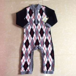 baby gap knitted romper