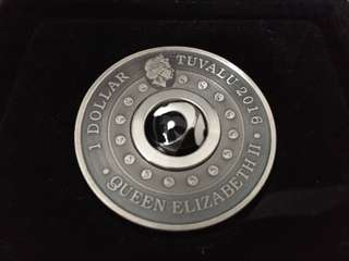 Limited Edition Ying Yang Silver Coin