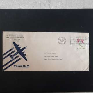 Singapore 1963 Airmail Cover