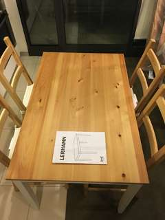 Dinning desk with 4 chairs