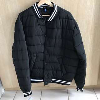 Jaket Bomber H&M (authentic bomber jacket winter)