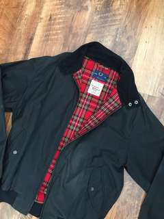 Fred Perry X The British Millerain Harrington Jacket