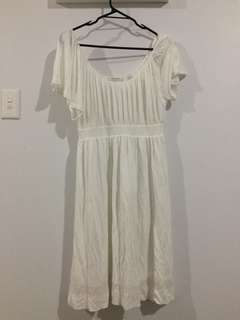 White Country Road Dress Size Small