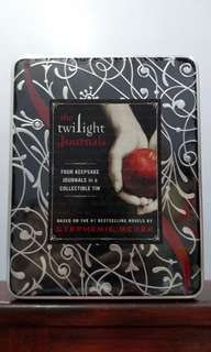 COLLECTOR'S EDITION Twilight Journals in Collectible Tin