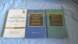 Law books by Hector de Leon